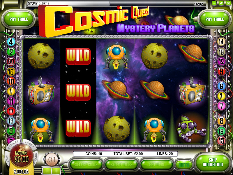 Cosmic Quest II Mystery Planets