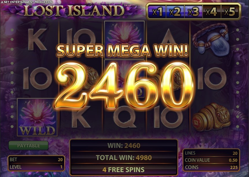 Play Lost Island Slot - Claim Free Spins at SlotsWise